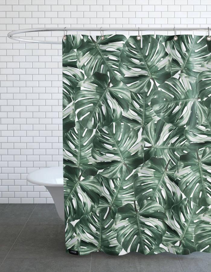 15 rideaux de douche pour une salle de bain tendance des id es. Black Bedroom Furniture Sets. Home Design Ideas