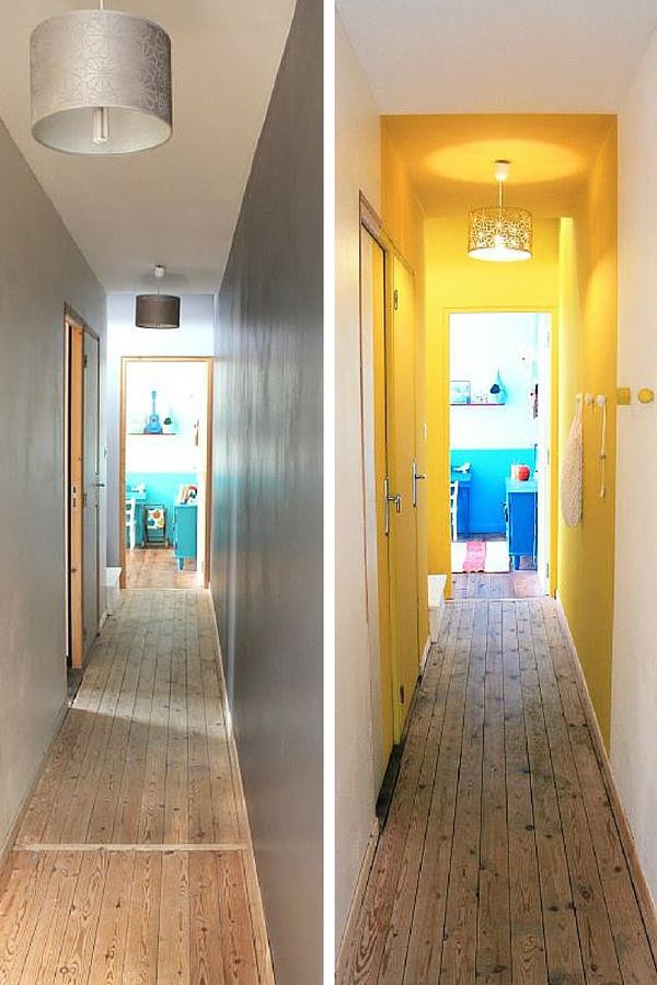 25 id es pour d corer votre couloir des id es - Stickers pour entree couloir ...