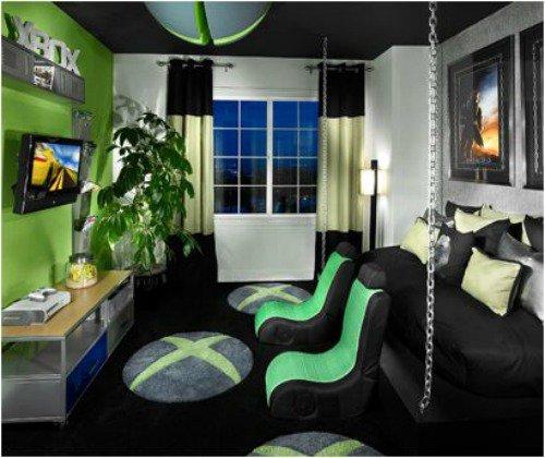 Mansion Bedrooms For Girls Cool Looking Bedrooms For Girls Brick Wallpaper Bedroom Bedroom Paint Ideas In Pakistan: 18 Idées Déco Pour Tous Les Passionnés De Jeux Vidéos