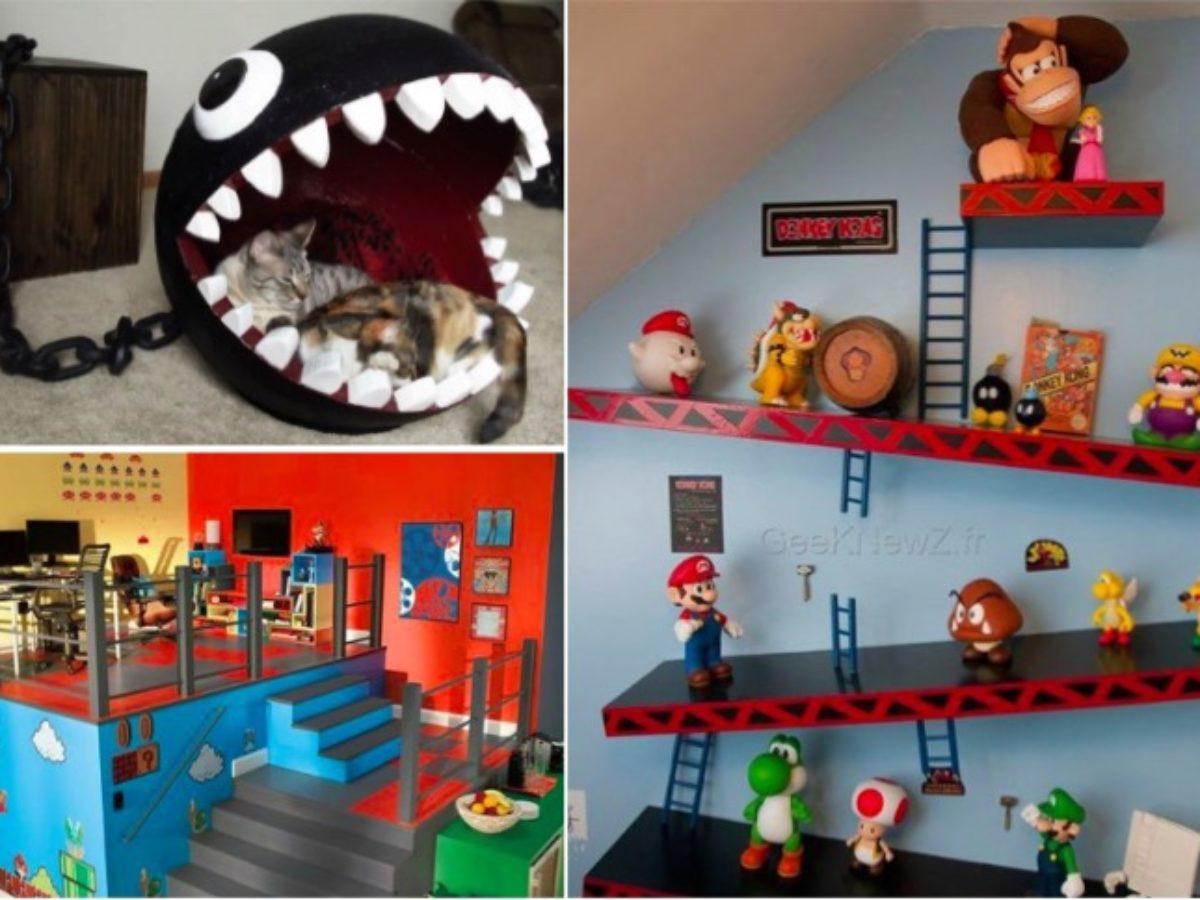 Jeux De Décoration De Salle De Bain 18 idées déco pour tous les passionnés de jeux vidéos - page