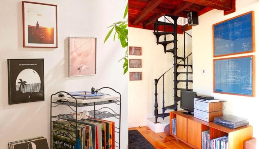 10 objets que vous n 39 auriez jamais pens encadrer dans votre salon. Black Bedroom Furniture Sets. Home Design Ideas