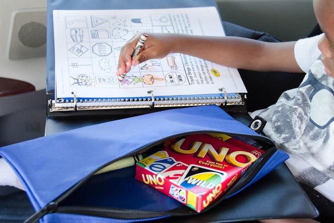 17 id es originales pour occuper vos enfants lors d 39 un long trajet en voiture page 2 sur 3. Black Bedroom Furniture Sets. Home Design Ideas