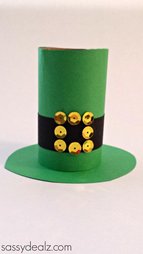 Diy fabriquez un chapeau de leprechaun avec un rouleau - Sassydeals com ...