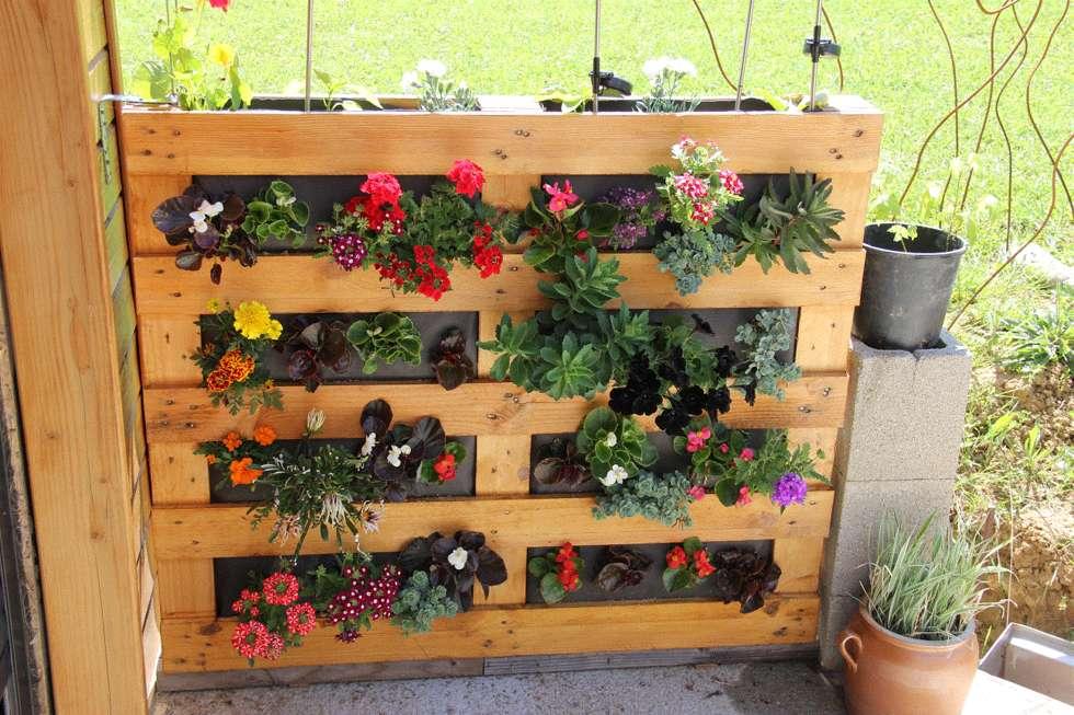 10 jardini res fabriquer pour un petit coin vert sur. Black Bedroom Furniture Sets. Home Design Ideas