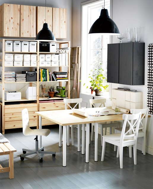 11 fa ons d 39 am nager un petit bureau chez vous des id es. Black Bedroom Furniture Sets. Home Design Ideas