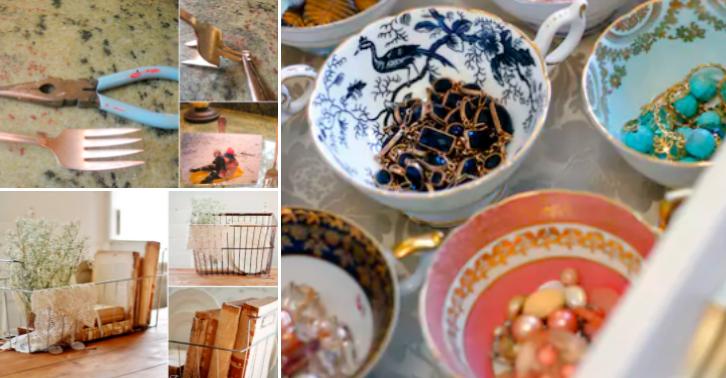 12 id es pour recycler vos vieux ustensiles de cuisine - Vieux ustensiles de cuisine ...