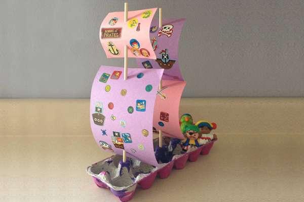 idees de bricolage  faire avec des boites doeufs