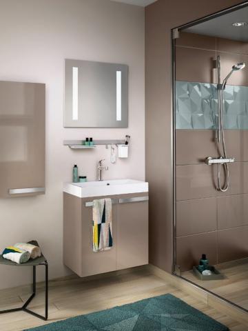 10 solutions d 39 am nagement pour une petite salle de bain for Salle de bain wc 3m2