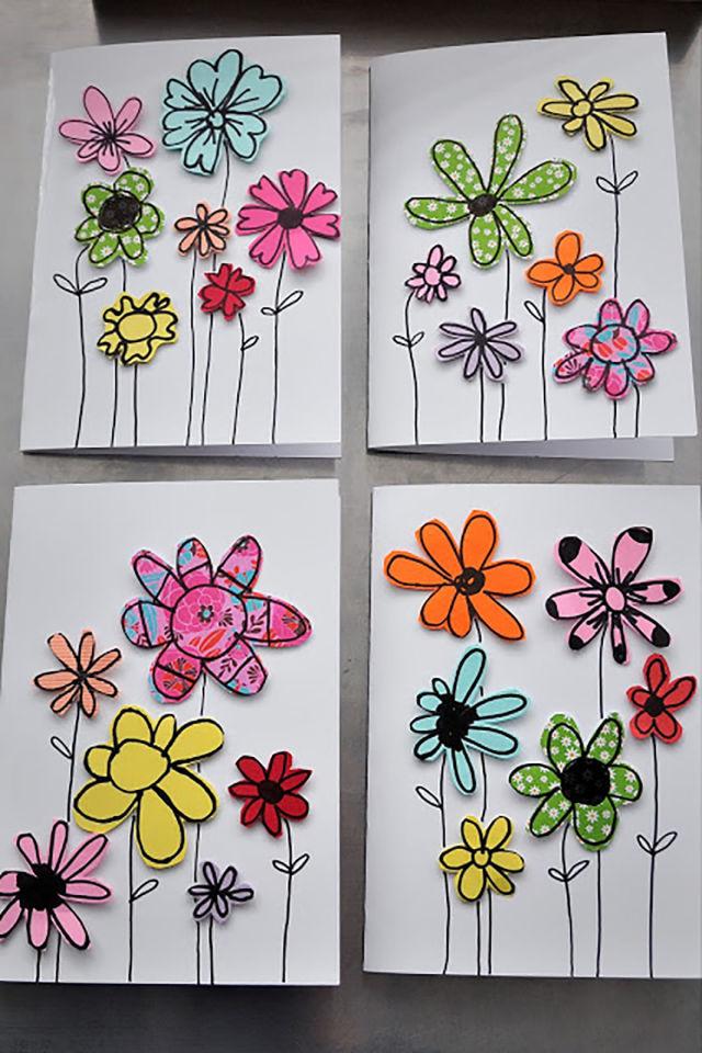 carte fete des meres pinterest 10 idées de cadeaux pour la fête des mères à faire avec vos