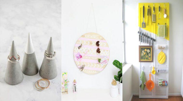 16 projets diy contre le d sordre dans votre maison. Black Bedroom Furniture Sets. Home Design Ideas
