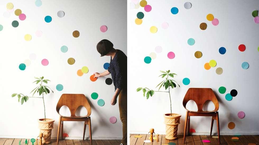 10 projets diy astucieux pour d corer un studio d 39 tudiant. Black Bedroom Furniture Sets. Home Design Ideas