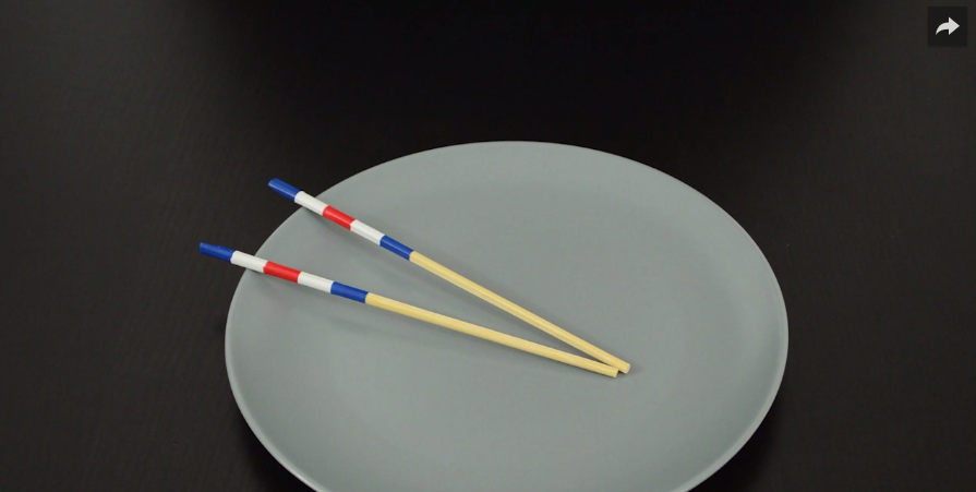 Tuto facile customisez vos baguettes chinoises des id es - Comment tenir des baguettes chinoises ...