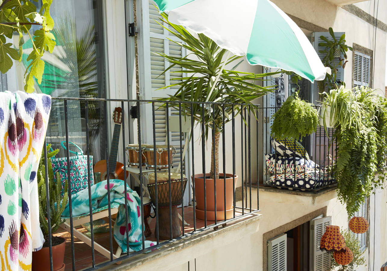 18 id es d 39 am nagement pour un petit balcon. Black Bedroom Furniture Sets. Home Design Ideas