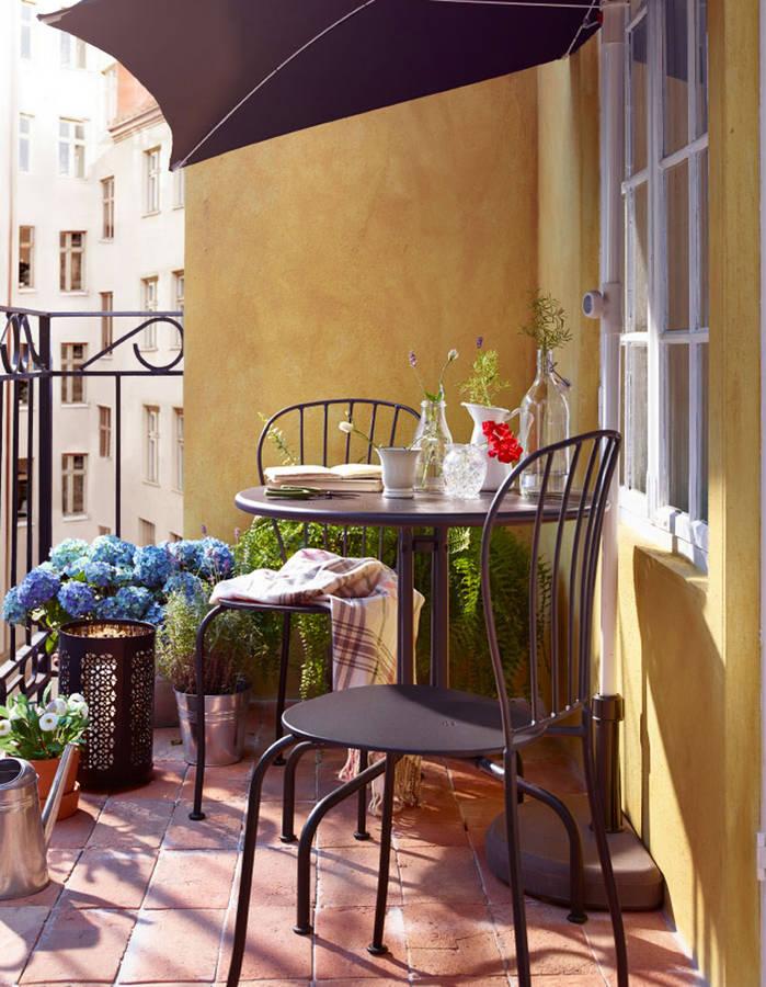 18 id es d 39 am nagement pour un petit balcon page 3 sur 3 des id es. Black Bedroom Furniture Sets. Home Design Ideas