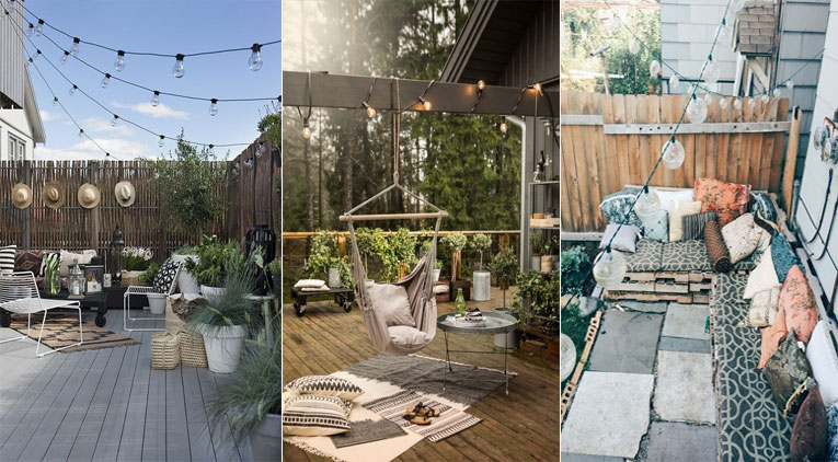 37 fa ons d 39 am nager votre terrasse ou votre balcon pour l for Amenager une grande terrasse