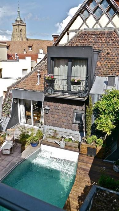 37 fa ons d 39 am nager votre terrasse ou votre balcon pour l 39 t des id es. Black Bedroom Furniture Sets. Home Design Ideas