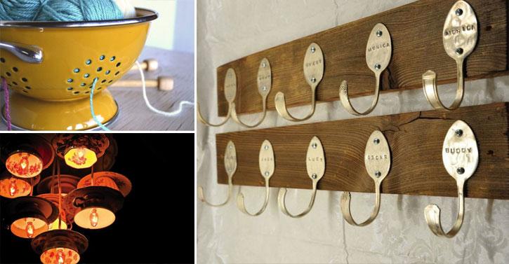 24 mani res de r utiliser vos vieux ustensiles de cuisine - Vieux ustensiles de cuisine ...