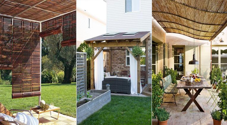10 manières époustouflantes de créer de l\'ombre sur votre terrasse ...