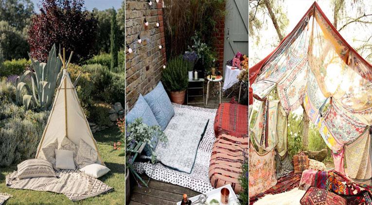20 id es de coin zen dans votre jardin pour profiter du beau temps. Black Bedroom Furniture Sets. Home Design Ideas