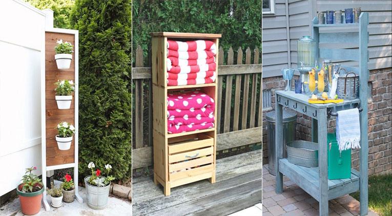 10 id es diy pour organiser parfaitement votre terrasse for Organiser sa terrasse
