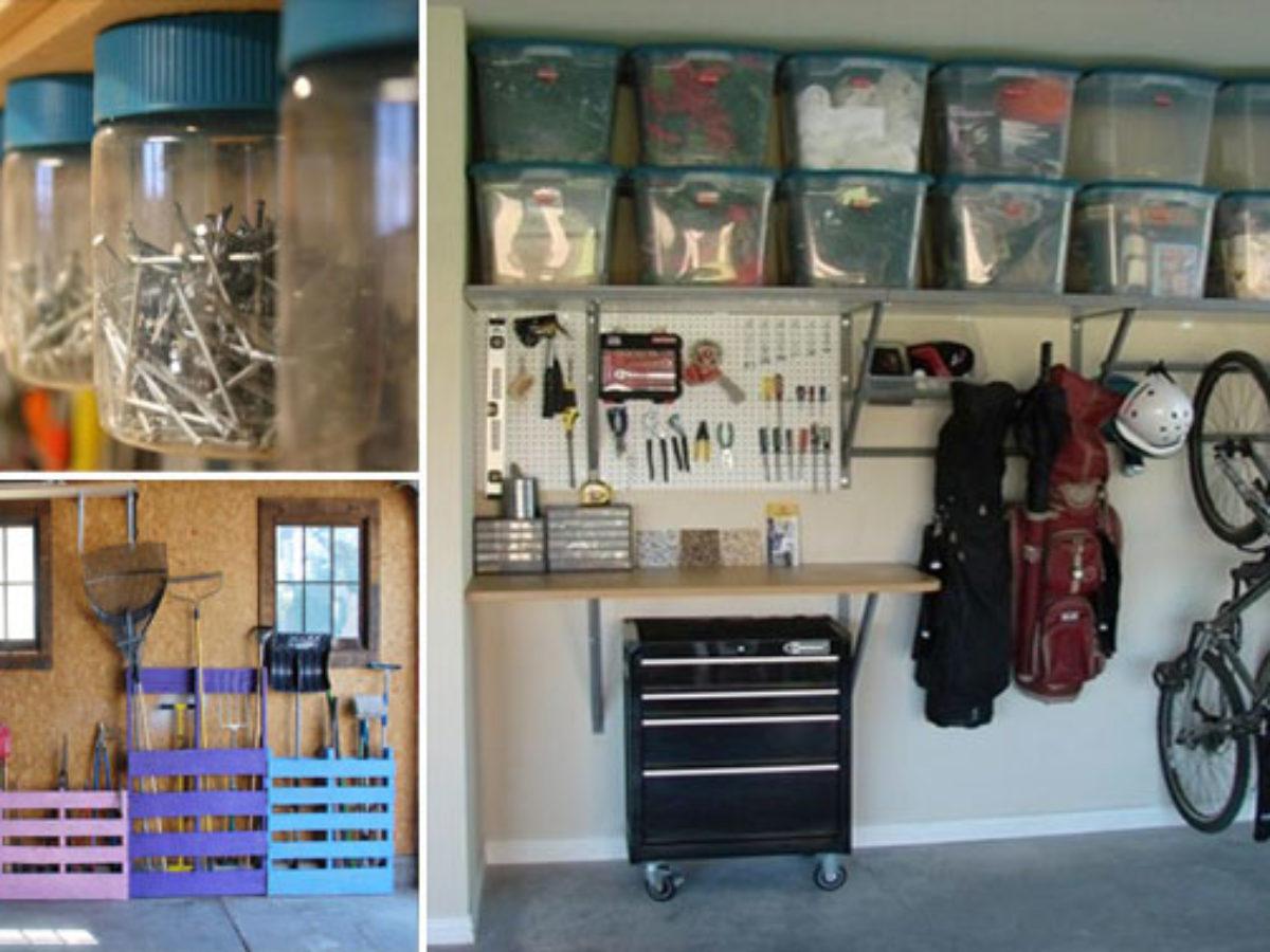 22 Idees Et Astuces Pour Avoir Un Garage Bien Organise