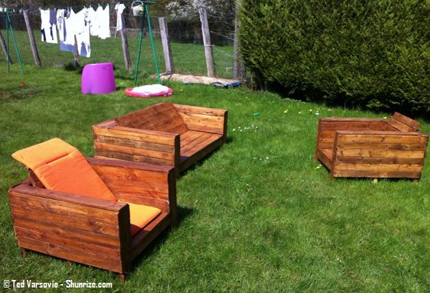 18 salons de jardin que vous pouvez fabriquer avec des ...