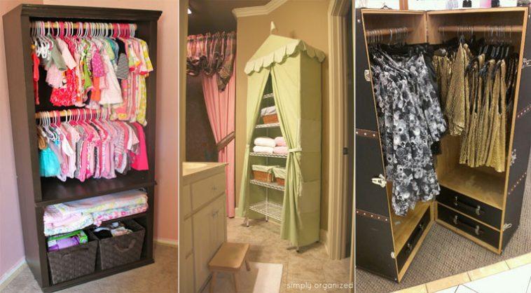 10 solutions de dressing pas ch res pour la chambre de vos enfants. Black Bedroom Furniture Sets. Home Design Ideas