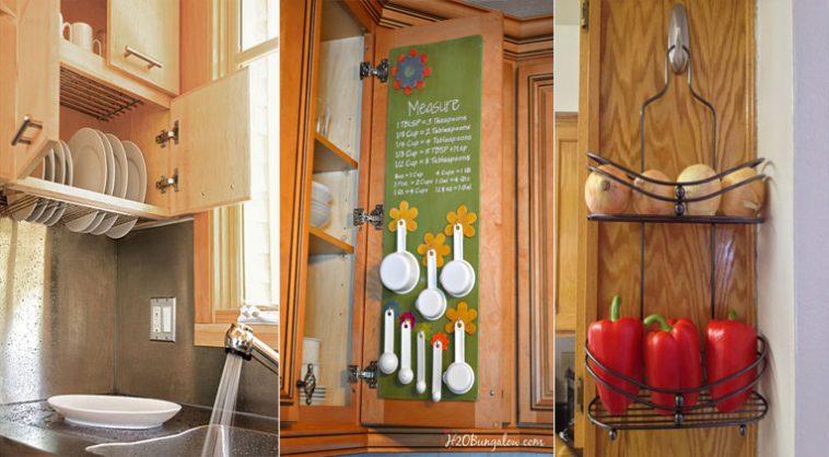 15 trucs et astuces pour optimiser votre petite cuisine. Black Bedroom Furniture Sets. Home Design Ideas