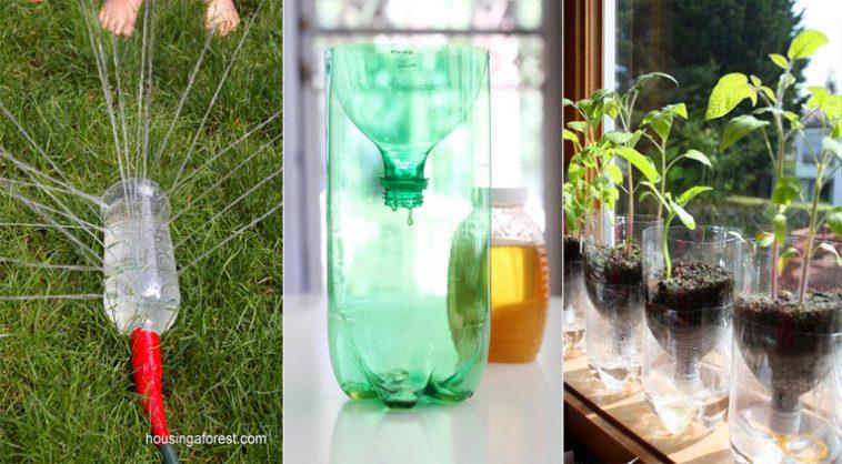 Souvent 10 façons créatives de recycler vos bouteilles en plastique - Des  RT29