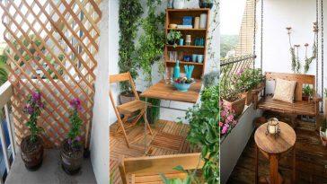 38 magnifiques idées pour aménager et décorer votre balcon - Des idées