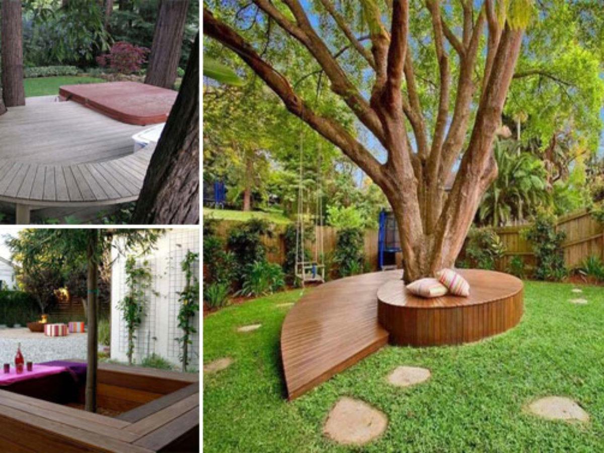 Idee Deco Palette Jardin 14 idées créatives pour habiller votre arbre de jardin avec