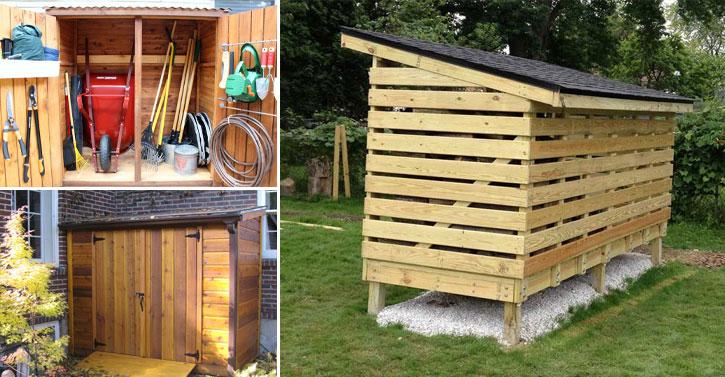 10 abris de jardin pour stocker votre bois ou vos outils de jardinage. Black Bedroom Furniture Sets. Home Design Ideas