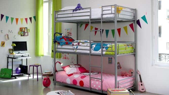 9 il existe galement des lits superposs pouvant accueillir trois enfants