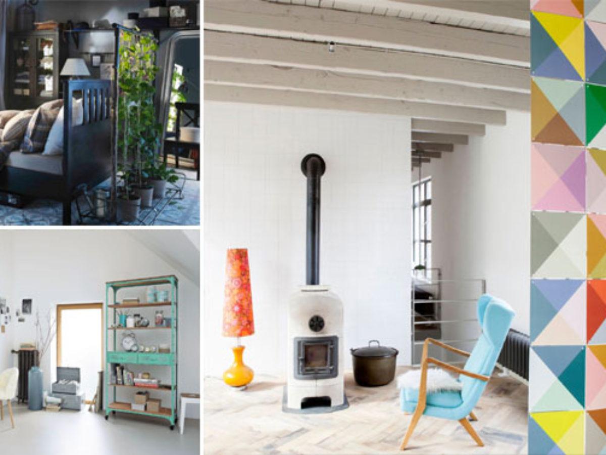 Comment Diviser Une Chambre En Deux 12 façons de séparer plusieurs espaces de vie dans une seule