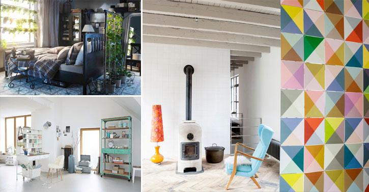 12 fa ons de s parer plusieurs espaces de vie dans une. Black Bedroom Furniture Sets. Home Design Ideas