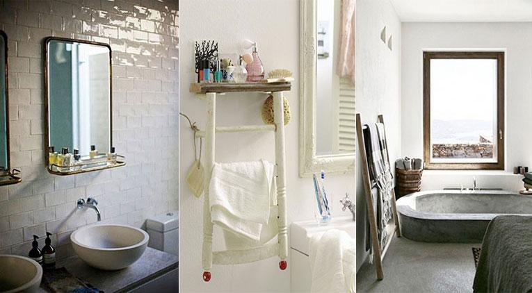 12 fa ons de gagner de la place dans une petite salle de bain. Black Bedroom Furniture Sets. Home Design Ideas