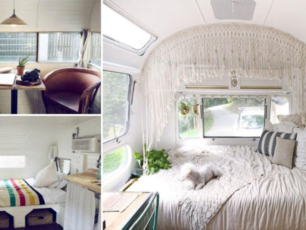 Comment Nettoyer Des Coussins De Caravane 15 intérieurs de caravanes pour vous sentir comme chez vous