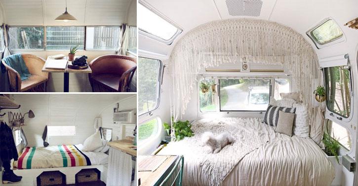 15 int rieurs de caravanes pour vous sentir comme chez vous n 39 importe o. Black Bedroom Furniture Sets. Home Design Ideas