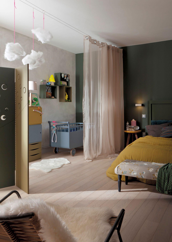 12 façons de séparer plusieurs espaces de vie dans une seule pièce