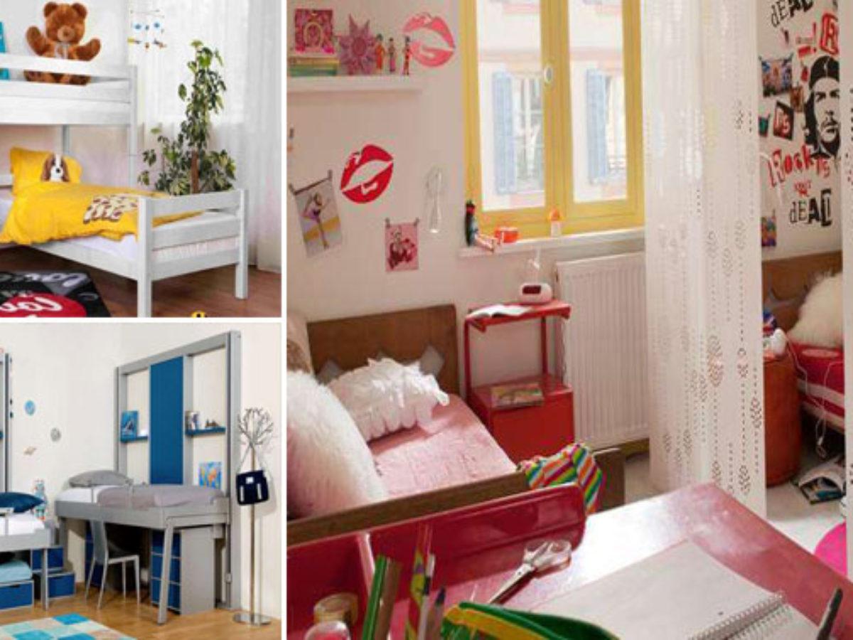 Leroy Merlin Chambre Enfant 20 façons d'aménager une petite chambre pour deux ou