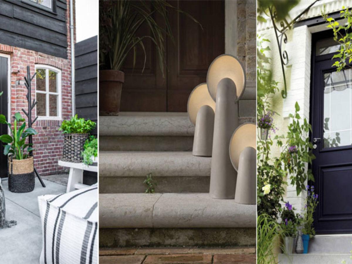 Aménagement Entrée Maison Extérieur 15 façons de décorer l'entrée extérieure de votre maison
