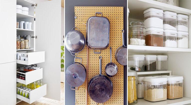 13 trucs et astuces pour mieux organiser et ranger votre - Trucs et astuces de cuisine ...