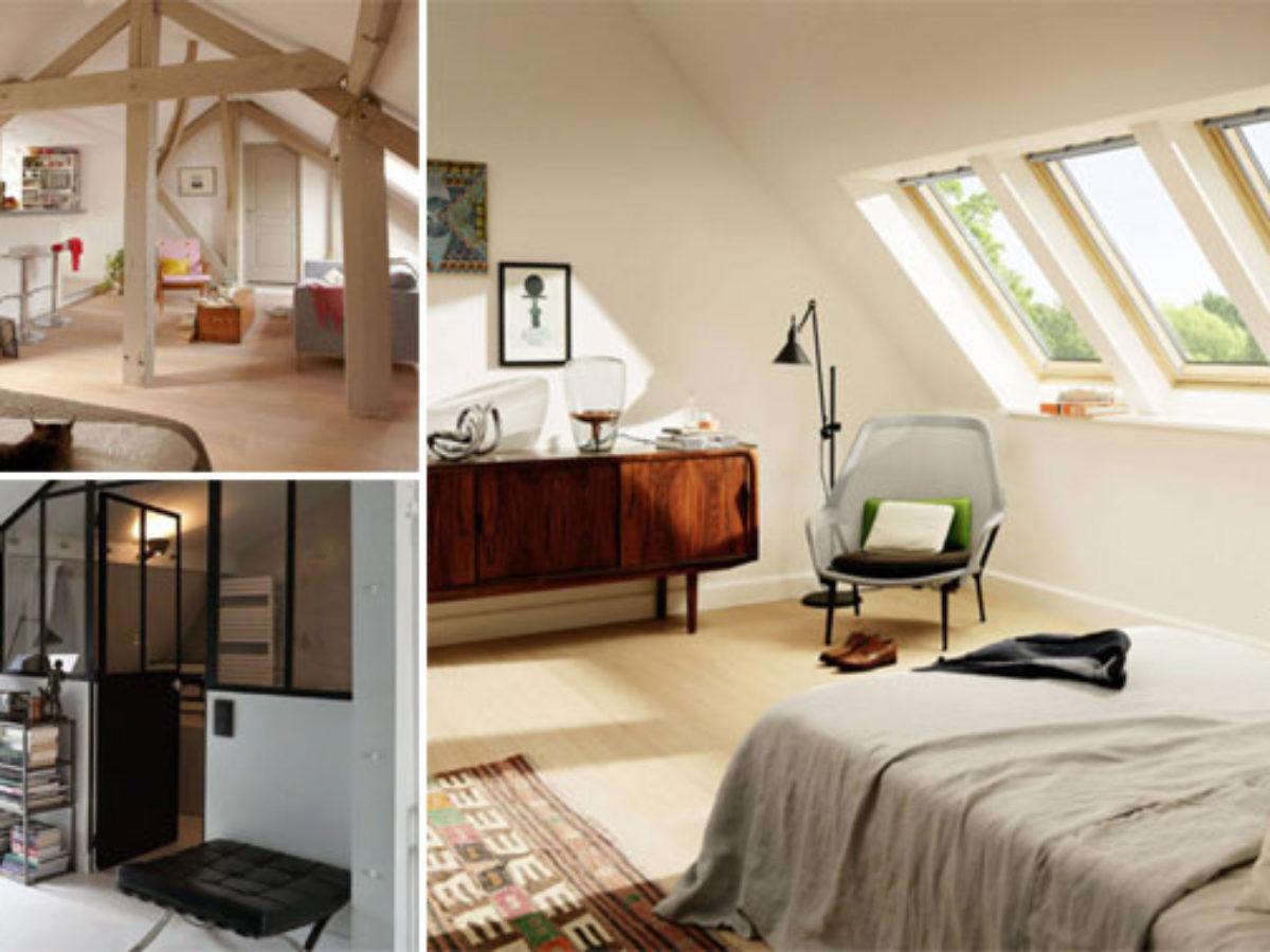 12 idées déco pour aménager une chambre sous les toits