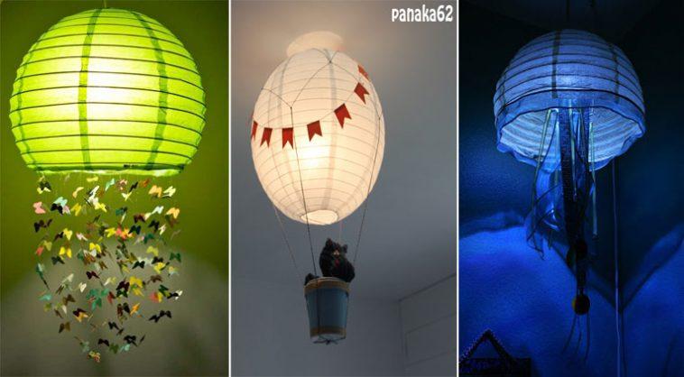 14 mani res de d corer une lanterne en papier reproduire facilement chez vous des id es. Black Bedroom Furniture Sets. Home Design Ideas