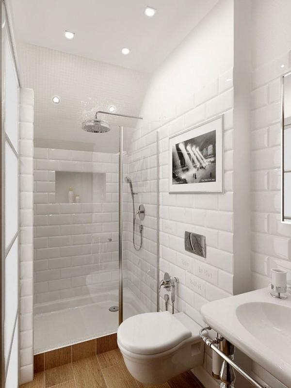petite-salle-de-bain-contemporaine - Des idées