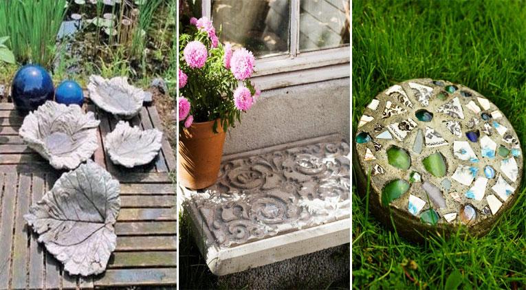 11 projets en béton pour embellir votre jardin - Page 2 sur 2