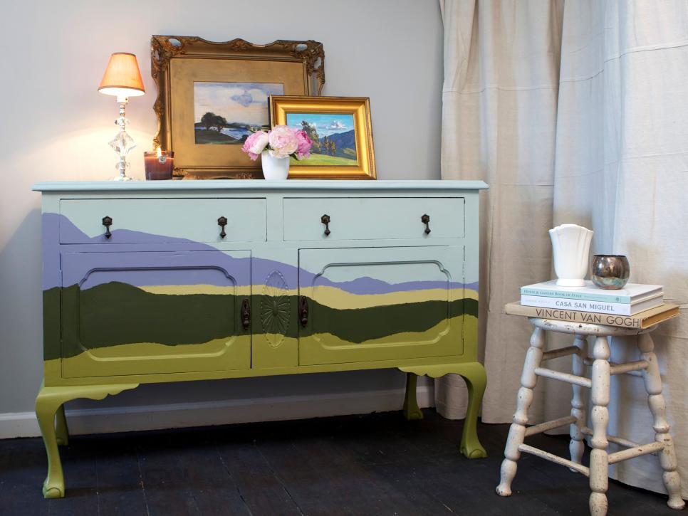 15 plus belles id es de peinture pour rafra chir votre vieille commode des id es. Black Bedroom Furniture Sets. Home Design Ideas