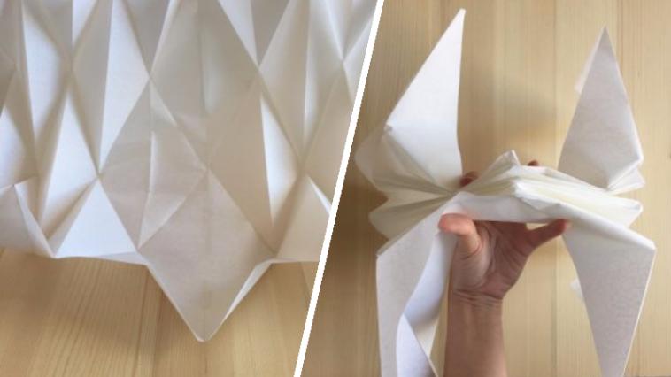 diy fabriquez votre abat jour en origami des id 233 es