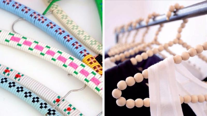 14 astuces pour customiser vos cintres des idees With good salle de jeux maison 14 50 euros pour un objet design