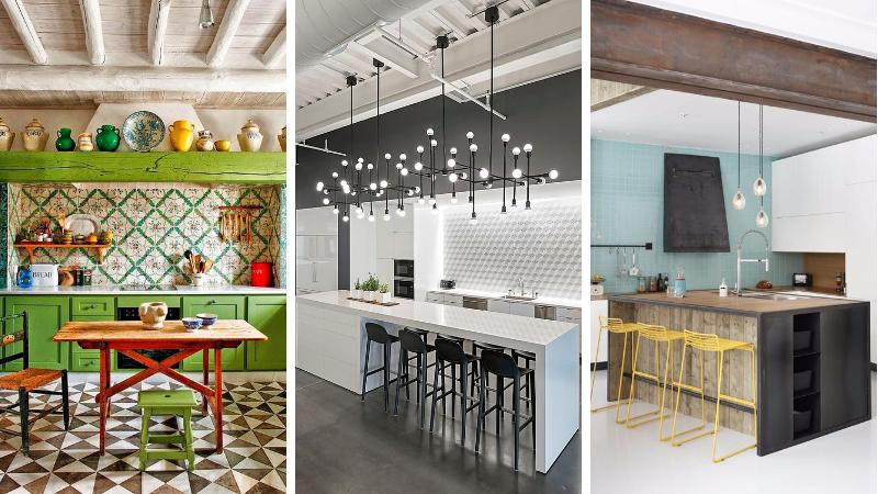 18 inspirations splendides pour une cuisine ouverte l 39 am ricaine. Black Bedroom Furniture Sets. Home Design Ideas